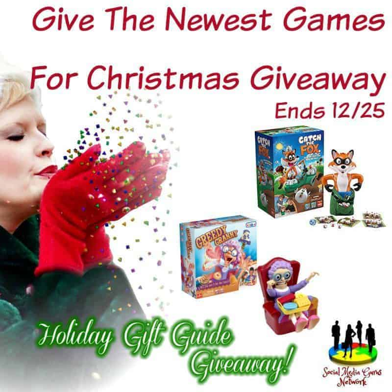 Give The Newest Games For Christmas Giveaway