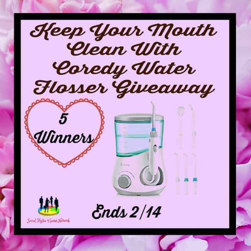 Keep Your Mouth Clean With Coredy Water Flosser