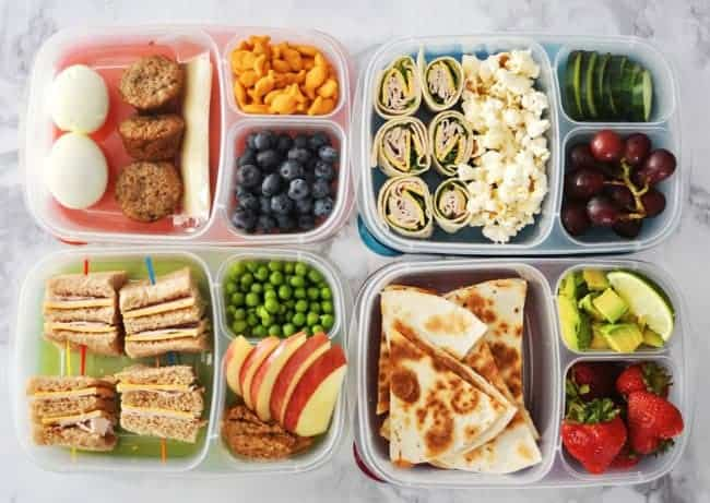 Meal Prep for traveling while on a diet