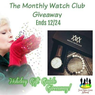 The Monthly Watch Club Giveaway
