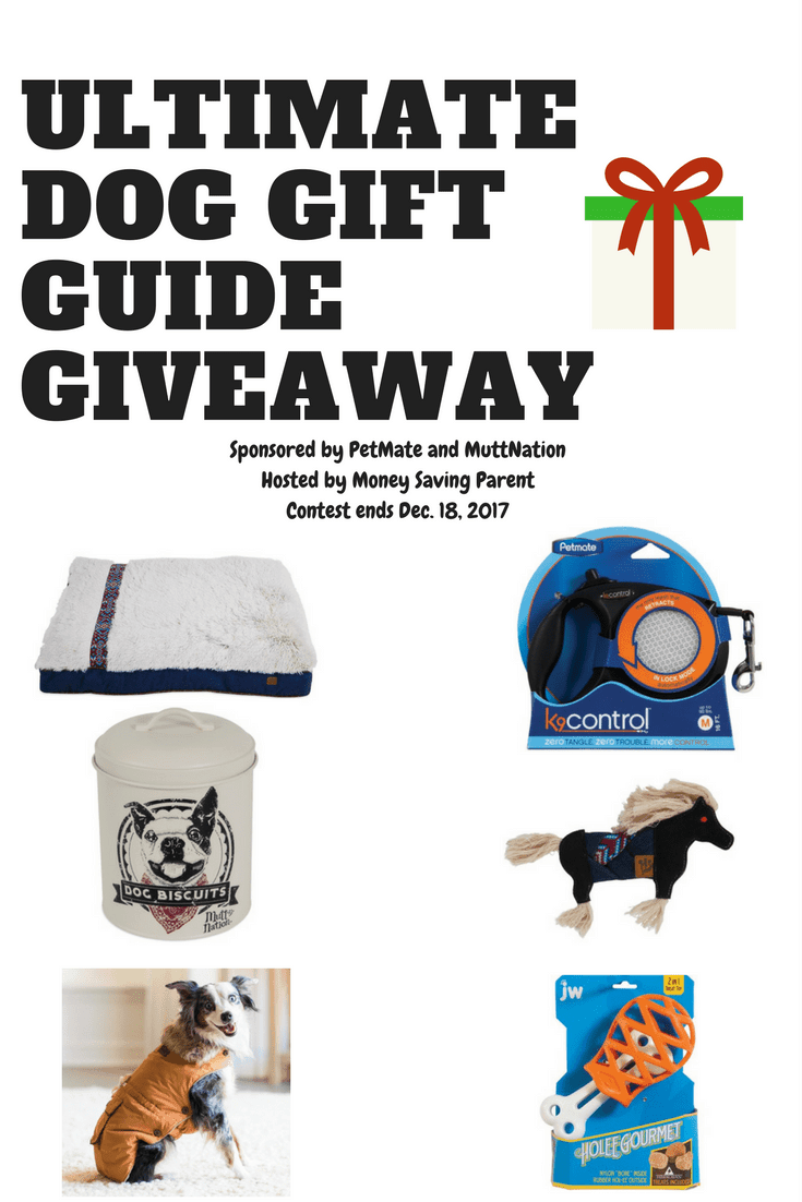 MuttNation Foundation Dog Gift Guide Giveaway