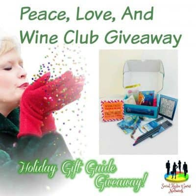 Peace Love and Wine Club Giveaway