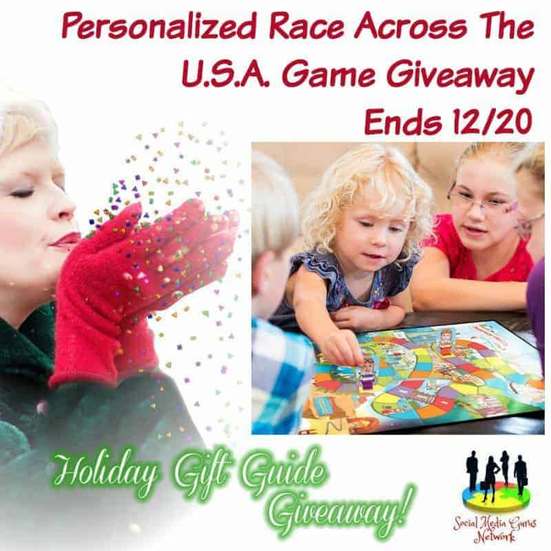 Personalized Race Across The U.S.A. Game