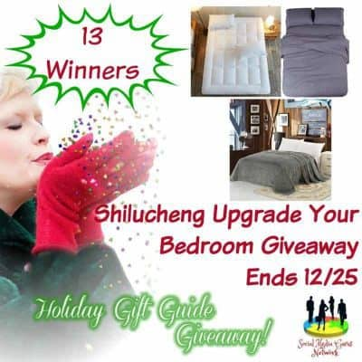 Shilucheng Upgrade Your Bedroom Giveaway (13-Winners)