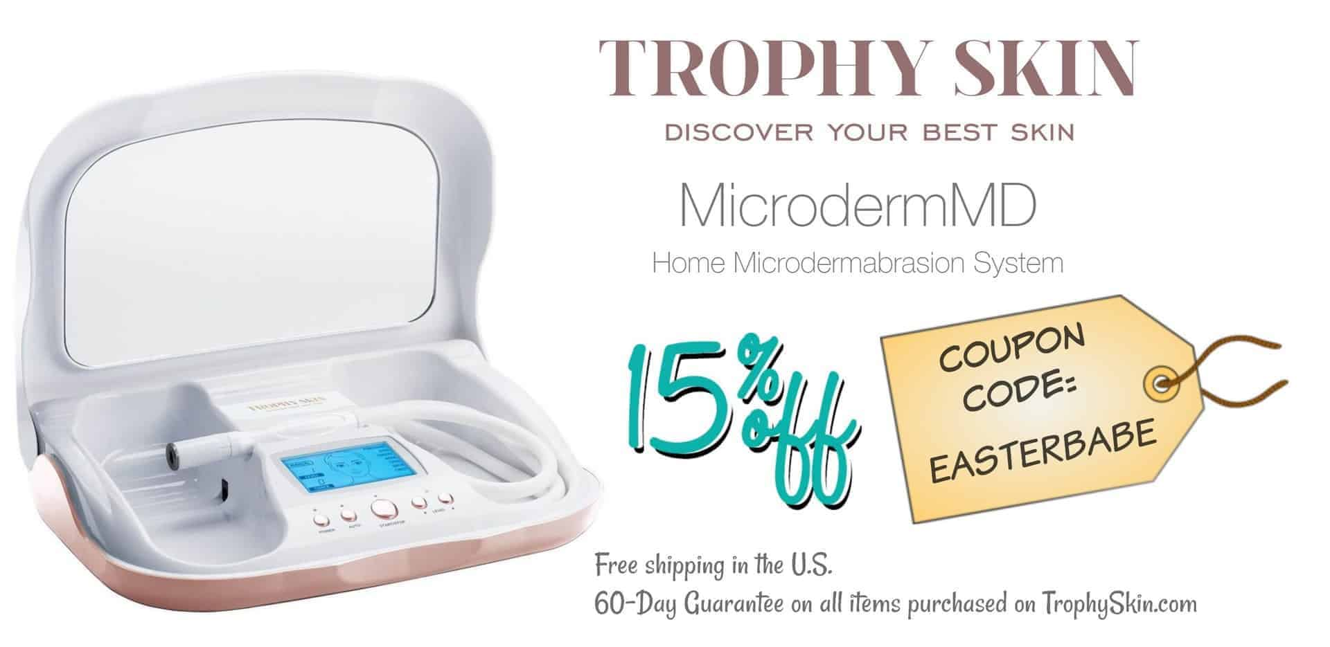 Trophy Skin Microdermabrasion MicrodermMD System Discount Coupon Codes