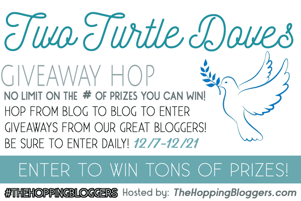 Two Turtle Doves Holiday Giveaway Blog Hop