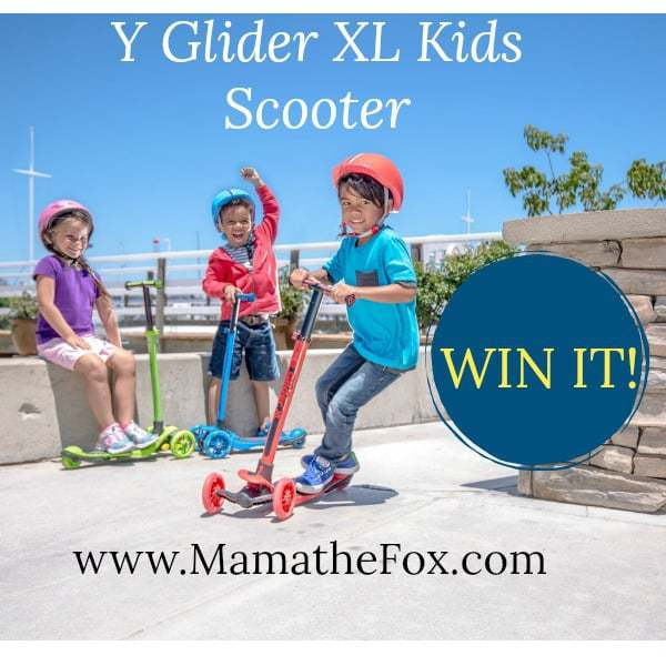 Y Glider XL Scooter Giveaway