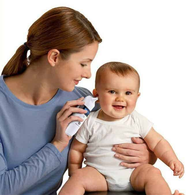 Gland Digital Forehead and Ear Thermometer