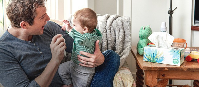 Must-Haves When Caring for a Sick Child with Cold or Flu Kleenex Soothing Lotion Tissue
