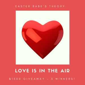 Love Is In The Air Valentine's Giveaway