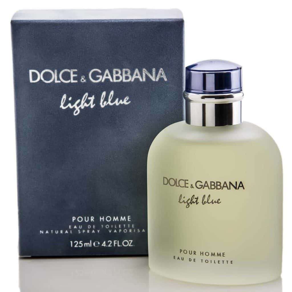 My Gift Stop LIGHT BLUE by Dolce & Gabbana for MEN EDT SPRAY