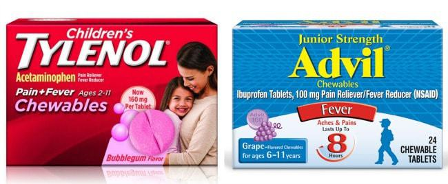Must-Haves When Caring for a Sick Child with Cold or Flu Alternate Acetaminophen and Ibuprofen