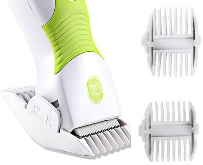 Super Quiet Kid Friendly Hair Clippers by Gland Electronics GLL-9A Combs 2