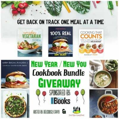 New Year ~ New You Cookbook Bundle Giveaway
