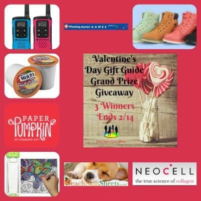 Valentine's Day Gift Guide Grand Prize Giveaway (3-Winners)