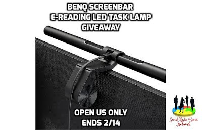 BenQ ScreenBar e-Reading LED Task Lamp