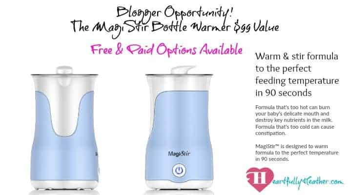 Blog Opp MagiStir Bottle Warmer