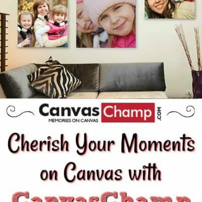 Cherish Your Moments on Canvas with CanvasChamp & Custom Canvas Print Giveaway