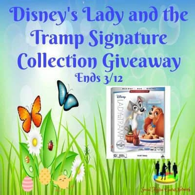 Disney's Lady and the Tramp Signature Collection DVD Giveaway
