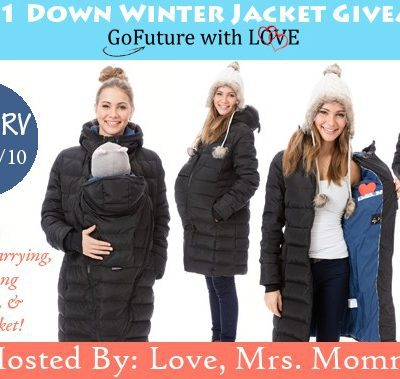 GoFuture With Love 4-in-1 Down Winter Jacket Giveaway