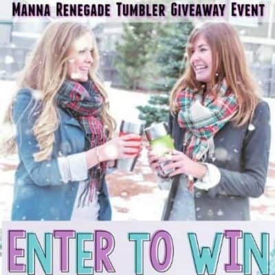 Keeping Beverages The Perfect Temperature with Manna Renegade Tumbler Giveaway (10-Winners)