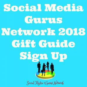 Social Media Gurus Network 2018 Gift Guide Sign Up