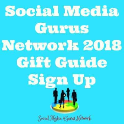 Social Media Gurus Network 2018 Gift Guides Sign Up