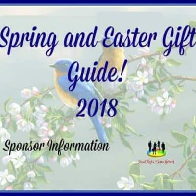 For Sponsors – Spring and Easter Gift Guide 2018 Sponsor Information