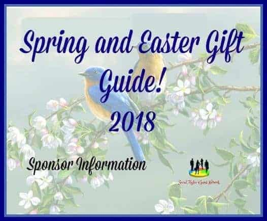 Spring and Easter Gift Guide 2018 Sponsor Information