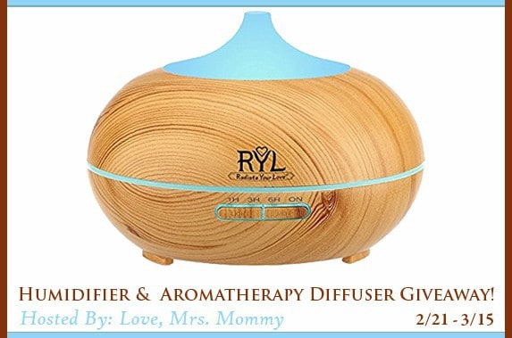 TopTenUSA Humidifier & Aromatherapy Diffuser