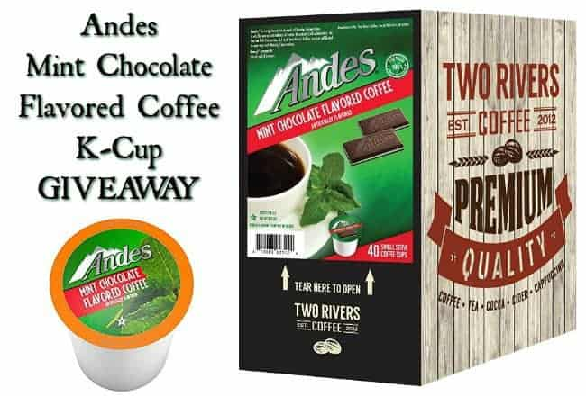 Two Rivers Andes Mint Chocolate Flavored K-Cup
