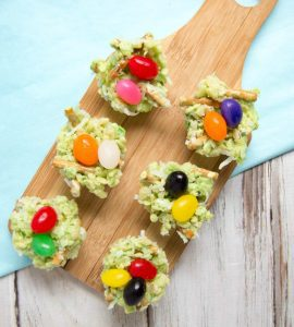 Rice Krispies Bird Nest Treats