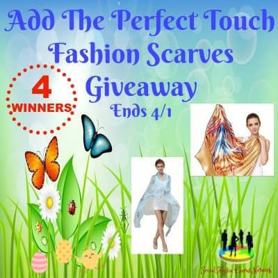 Add The Perfect Touch Fashion Scarves Giveaway