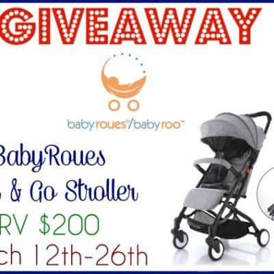 BabyRoues Roll & Go Stroller Giveaway
