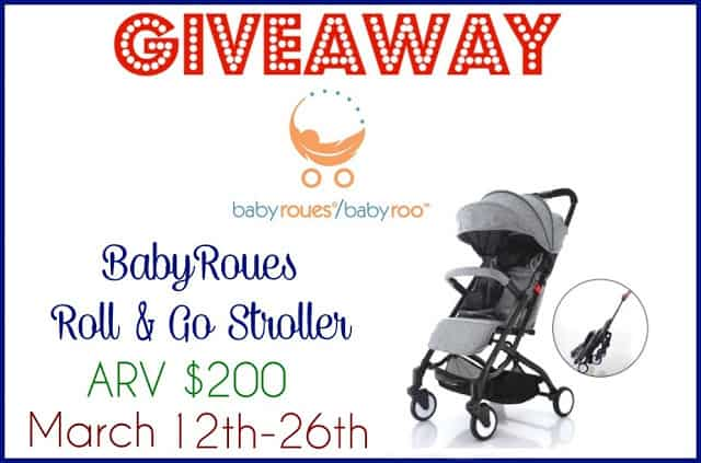 BabyRoues Roll and Go Stroller