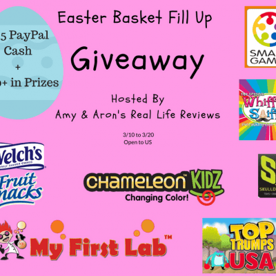 Easter Basket Fill Up Giveaway with $25 PayPal Cash and $100+ in Prizes