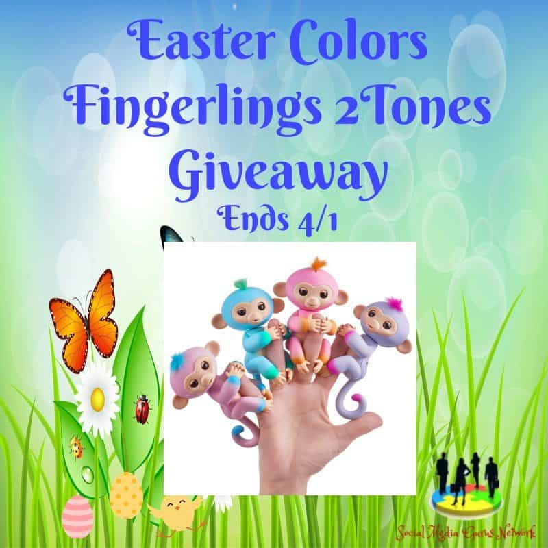 Easter Colors Fingerlings