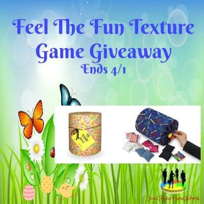 Feel The Fun Texture Game Giveaway