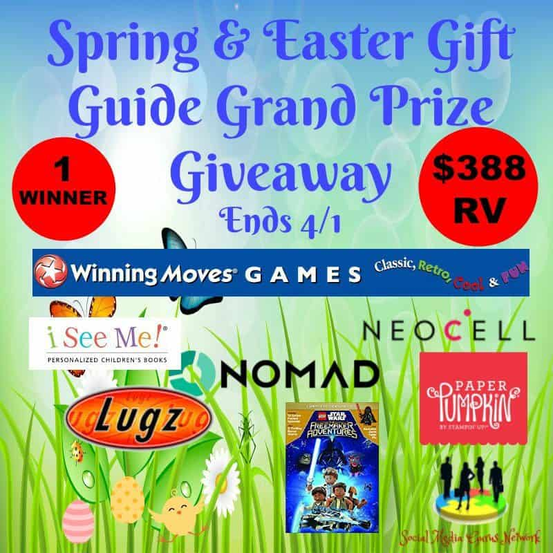 Spring & Easter Gift Guide Grand Prize