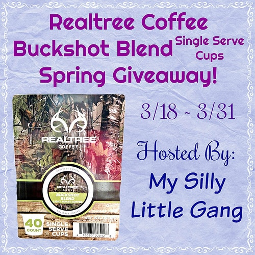 The Realtree Coffee Buckshot Blend Spring Giveaway