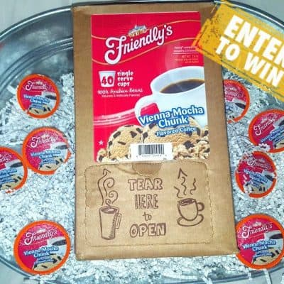 Warm up withFriendly's Vienna Mocha Chunk K-Cup Coffee Giveaway