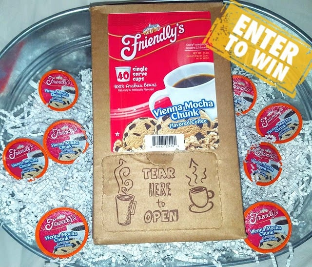 Warm up with Friendly's Vienna Mocha Chunk K-Cup Coffee