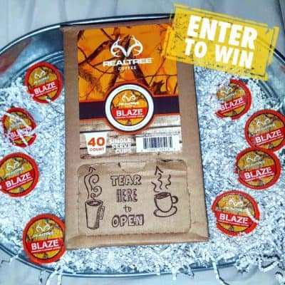 Warm up with Realtree BLAZE K-Cup Coffee Giveaway