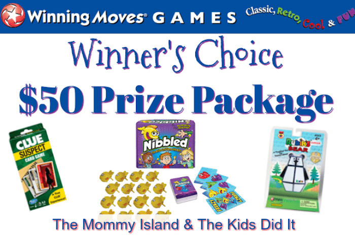 Welcome to the Winning Moves Games Giveaway!