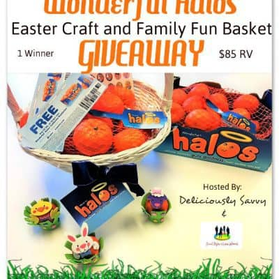 Wonderful Halos Easter Craft and Family Fun Basket Giveaway