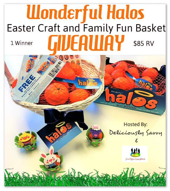 Wonderful Halos Easter Craft and Family Fun Basket