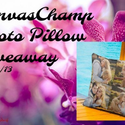 CanvasChamp Photo Pillow Giveaway
