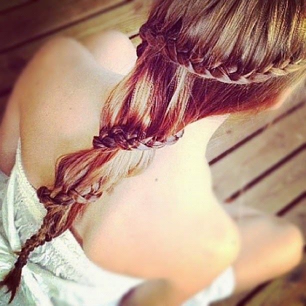 Carousel Braided Hairstyle