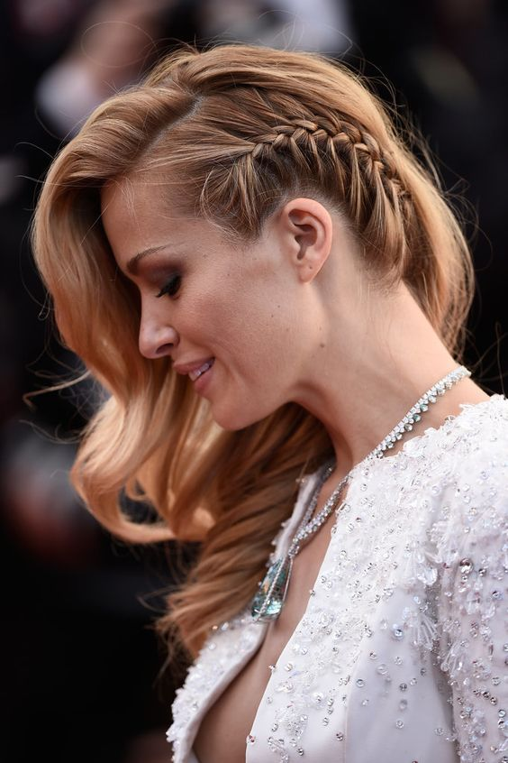 Faux Undercut Braid Hairstyle