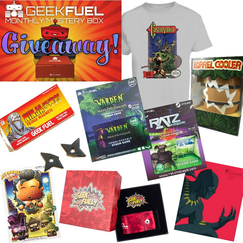 Geek and Gamer Monthly Mystery Box